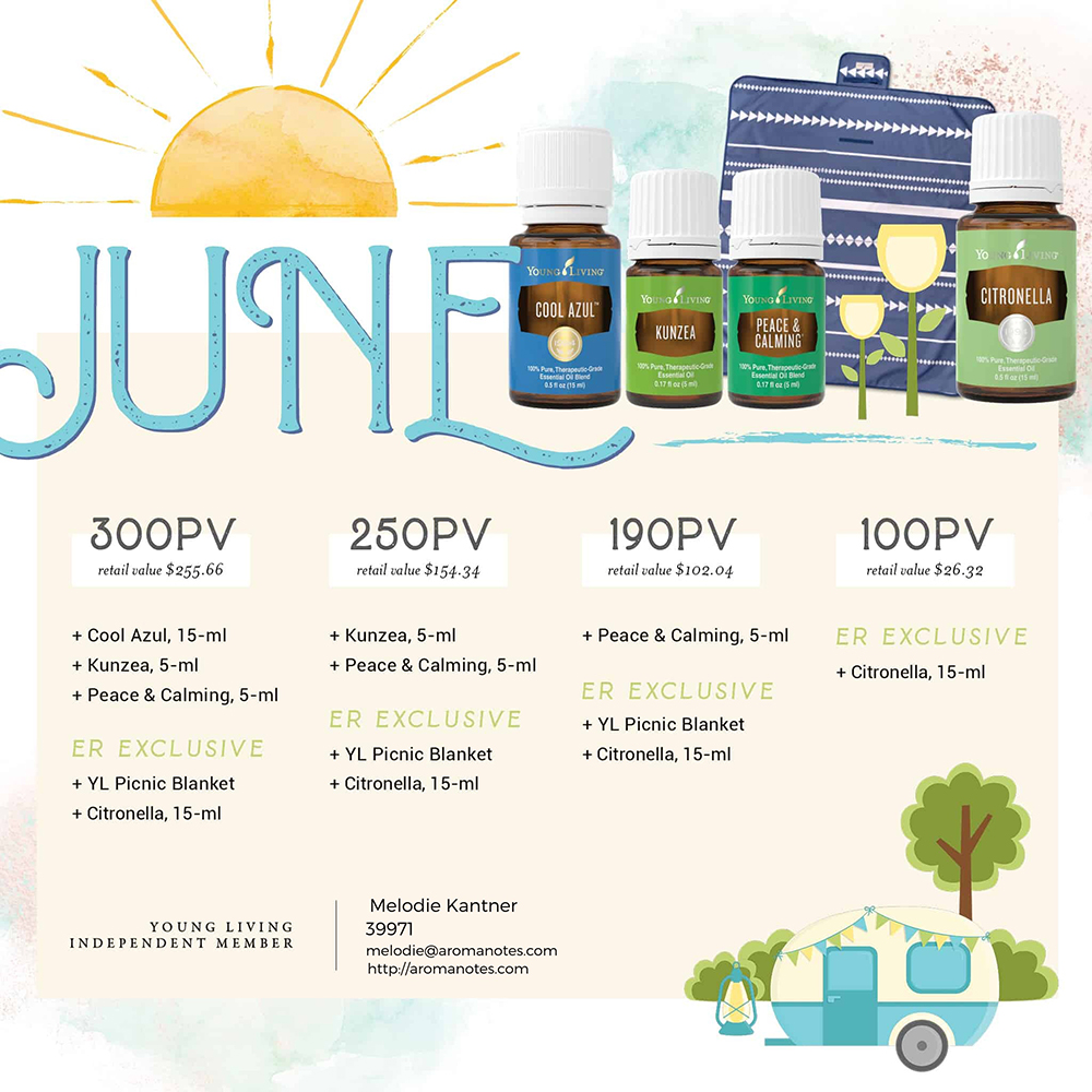 Young Living Monthly Promotion Promo
