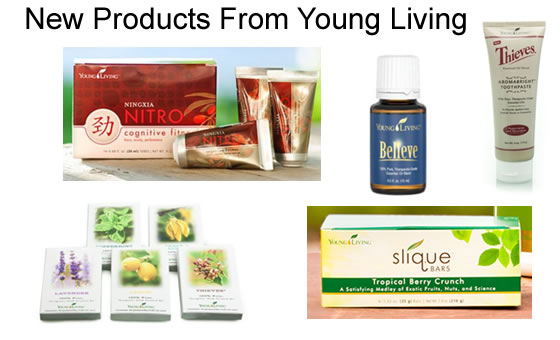 New Young Living Products 2013