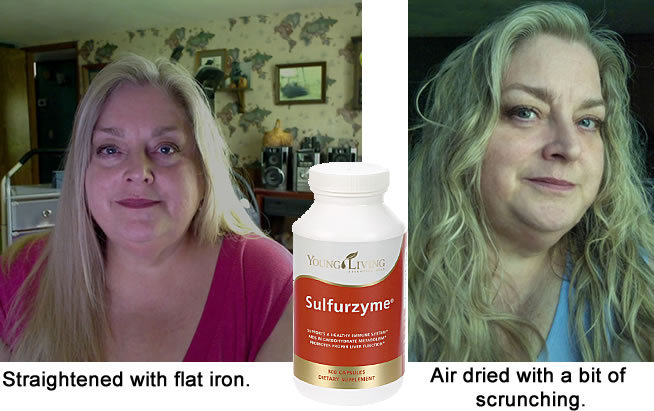 Young Living Sulfurzyme For Hair and Skin