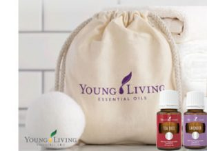 Dryer Balls with Essential Oils