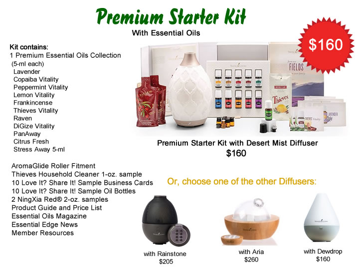 Young Living Premium Starter Kit with Essential Oils