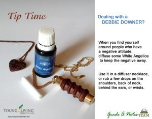 White Angelica for Debbie Downer