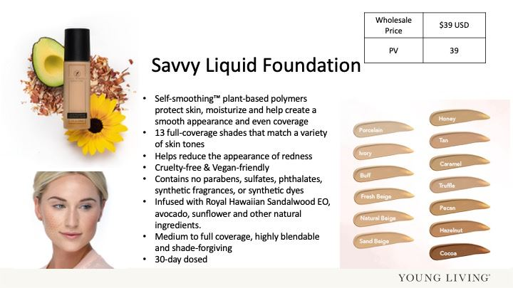 Savvy Liquid Foundation