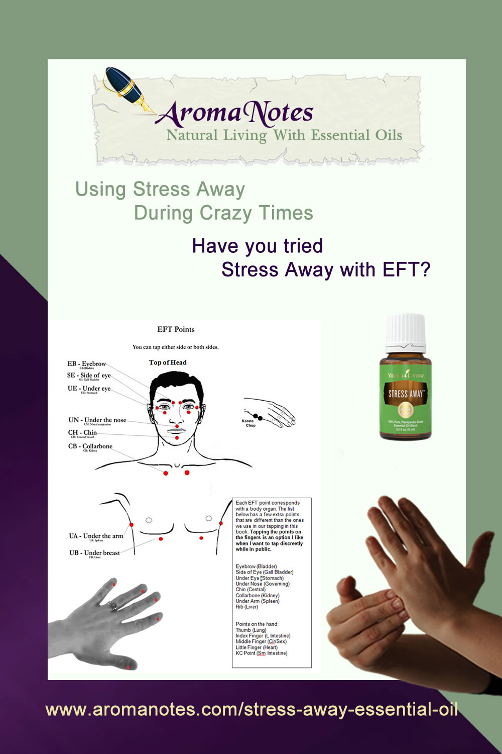 Stress Away With EFT Tapping